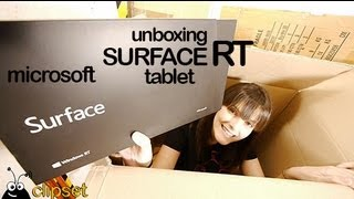 Unboxing Surface RT Microsoft