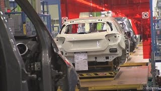 Mercedes A-Class Production in Rastatt, w176