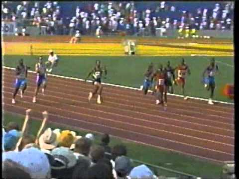 1996 US Olympic Trials - Men's 200 Meters (Michael Johnson WR)