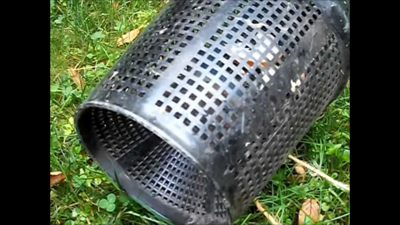 how to make a cone for a fish trap