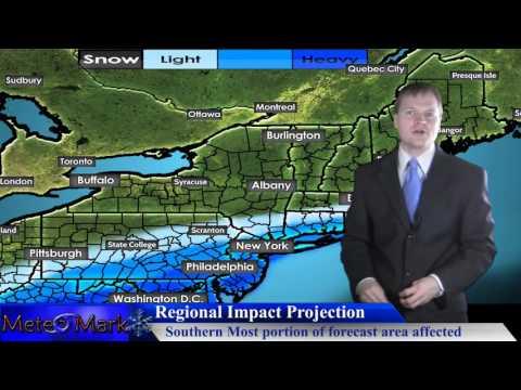 Major Winter Storm Potential For Mid Atlantic, Northeast : Jan 19, 2016
