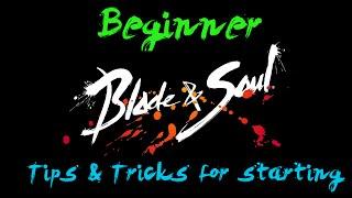 Blade & Soul: Beginner Tips & Tricks + BEST START