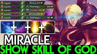 Miracle- [Invoker] Pro Player Show Skill of God Epic Game 7.21 Dota 2
