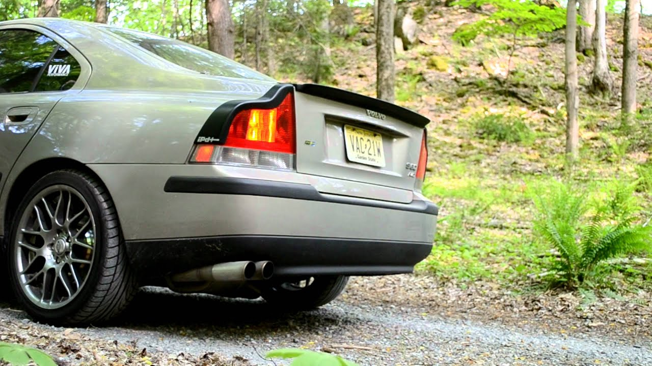 Volvo S60 - Resonator Removed from EuroSport Tuning R Catback - YouTube
