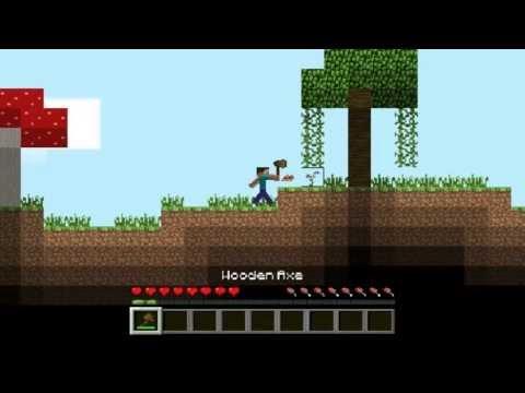 Jogos Grátis #11 - Minecraft 2D - Novo Minecraft 2D (Vixi muito matador XD)