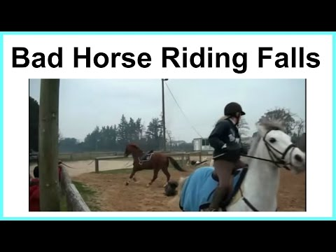 Bad horse riding falls! no.2