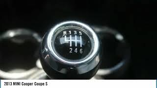 2013 MINI Cooper Coupe S Used M8838A