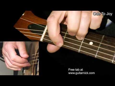 download lagu ODE TO JOY: Fingerstyle Guitar Lesson + gratis