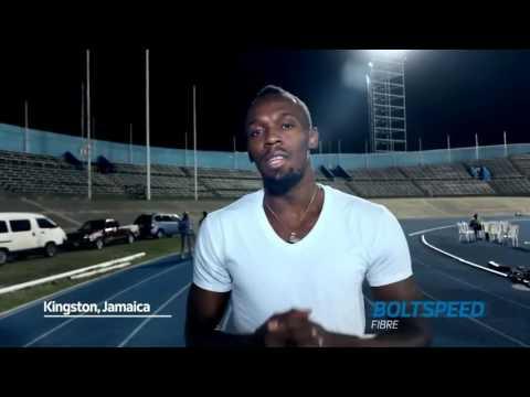Usain Bolt  Hello South Africa