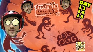 Lets play Plants vs. Zombies 2: FROSTBITE CAVES: Day 13 14 15 (Face Cam Commentary)