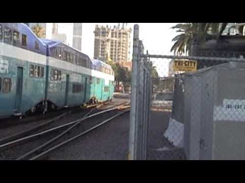 Amtrak, Coaster, BNSF Trains-  Featuring: Coaster K5LA's at FULL BLAST!!