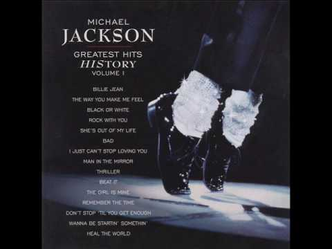 Michael Jackson Greatest Hits History - Man In The Mirror