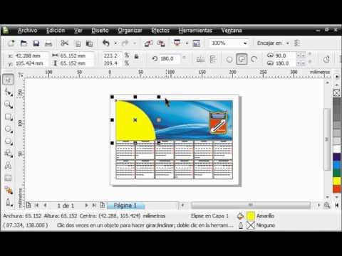 Crear un calendario con CorelDRAW