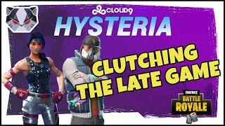 Hysteria | Fortnite Battle Royale - Clutching the Late Game - Duos with Yelo.