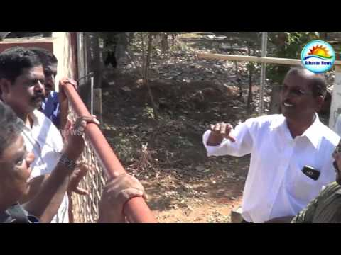 Land measuring to confiscate people's property intercepted in Jaffna