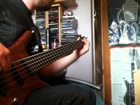 Audioslave-Revelations Bass cover by Josh Smith Warwick Corvette...