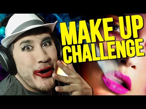 Impossible Let's Play: MAKE-UP CHALLENGE