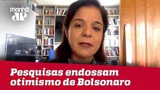 Pesquisas endossam otimismo de Bolsonaro | Vera Magalhães
