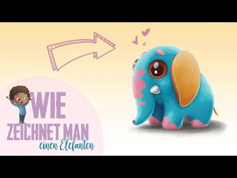 Hurra Helden – Zeichne wie ein Held – Elefant malen (Schritt für Schritt)