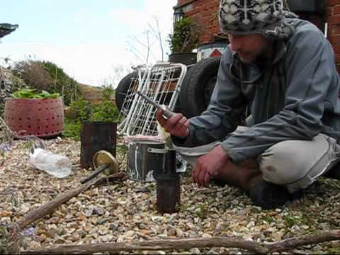 Hobo stove oil burner - COASTAL SURVIVAL SCHOOL