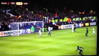 Samuel Umtiti goal vs Tottenham AMAZING VOLLEY