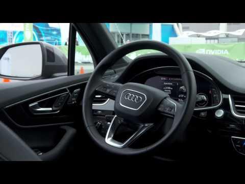 Audi and NVIDIA to Create the World's Most Advanced AI Car