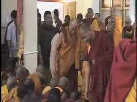 HH Dalai Lama in South India