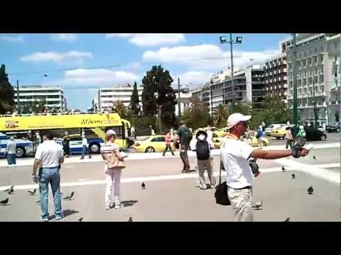 Syntagma square traffic