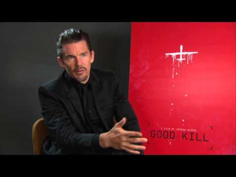 Good Kill: Ethan Hawke Exclusive Interview