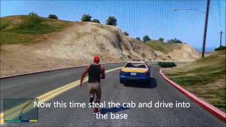 GTA V: How to steal a Military jet Successfully