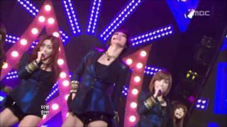 Nine Muses - News, 나인뮤지스 - 뉴스, Music Core 20120114