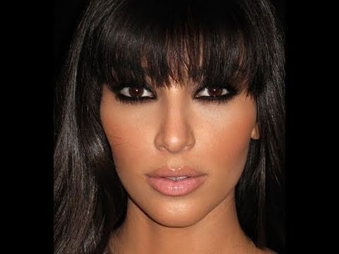 Kim Kardashian Smokey Eye Tutorial