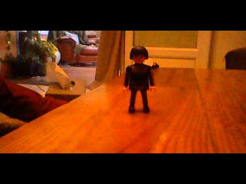 animation image par image (stop motion)playmobil