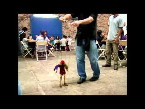 Marionetas Itinerantes. Festival Internacional de Cine, Costa Rica 2012.