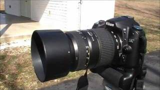 Nikon D80 And Tamron 70-300mm Lens Review
