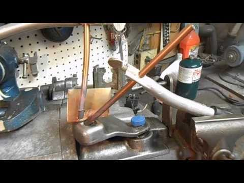 Dec 24 MG GT & Carbon Arc torch brazing rig