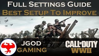 The Best Settings For CoD WW2 Setup Guide