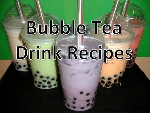 Bubble Tea Drink Recipes
