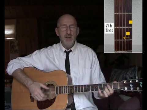 Blues in E Guitar Lesson - Lightnin' Hopkins