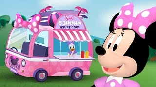 Minnie Mouse Food Truck Starring  ! Mickey Mouse Clubhouse Game full episode