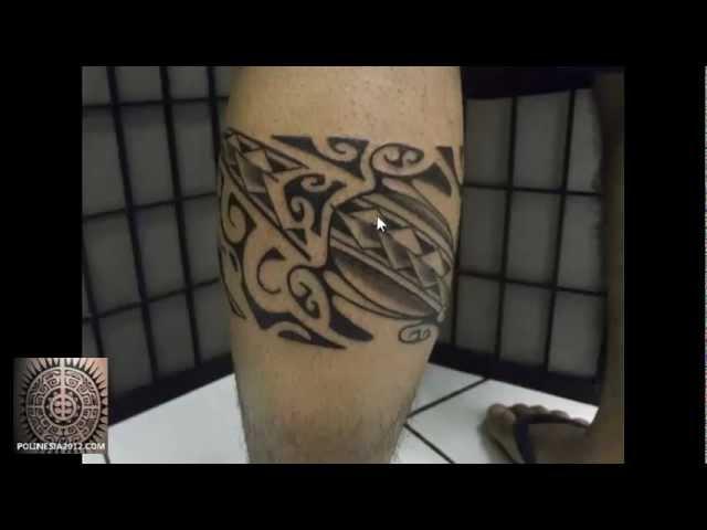 Tatuajes de Brazaletes Maories Polinesios en las Piernas para el Hombre de ROBERTTO ORIGINAL ...