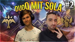 Sola x Silphi Duo Q! #2 [League of Legends] [Deutsch / German]