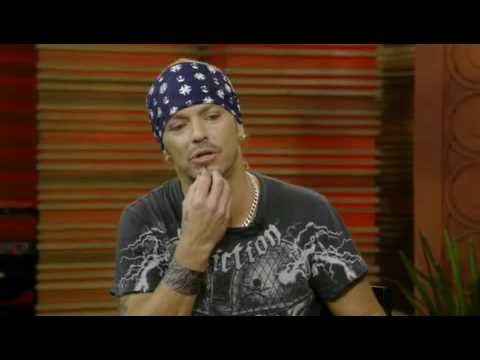 Bret Michaels talks about being close to death on Regis Philbin