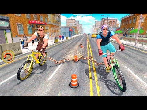 Bike Racing Games - Chained Bicycle Racing Games 3D - Gameplay Android free games