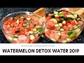 GREAT IDEA - Watermelon detox water with lime and cucumber | Chef Ricardo Cooking
