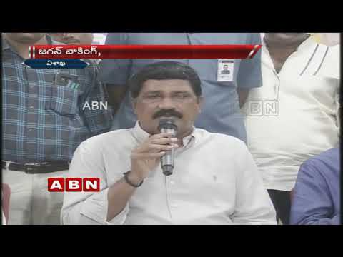 Pawan twitting ,Jagan walking ,One and only Chandrababu Naidu fighting for AP : Minister Ganta