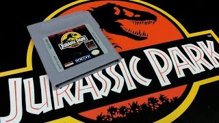 Classic Game Room - JURASSIC PARK review for Game Boy