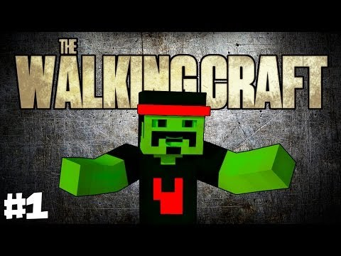 ZOMBIES ARMAS SOBREVIVER The Walking Craft #TWC #1 Minecraft