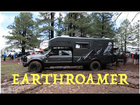 Earthroamer - tough on the outside. sexy on the inside :Overland Expo 2015