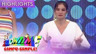 Anne tries famous Sexbomb dance craze | It's Showtime Sampu-Sample